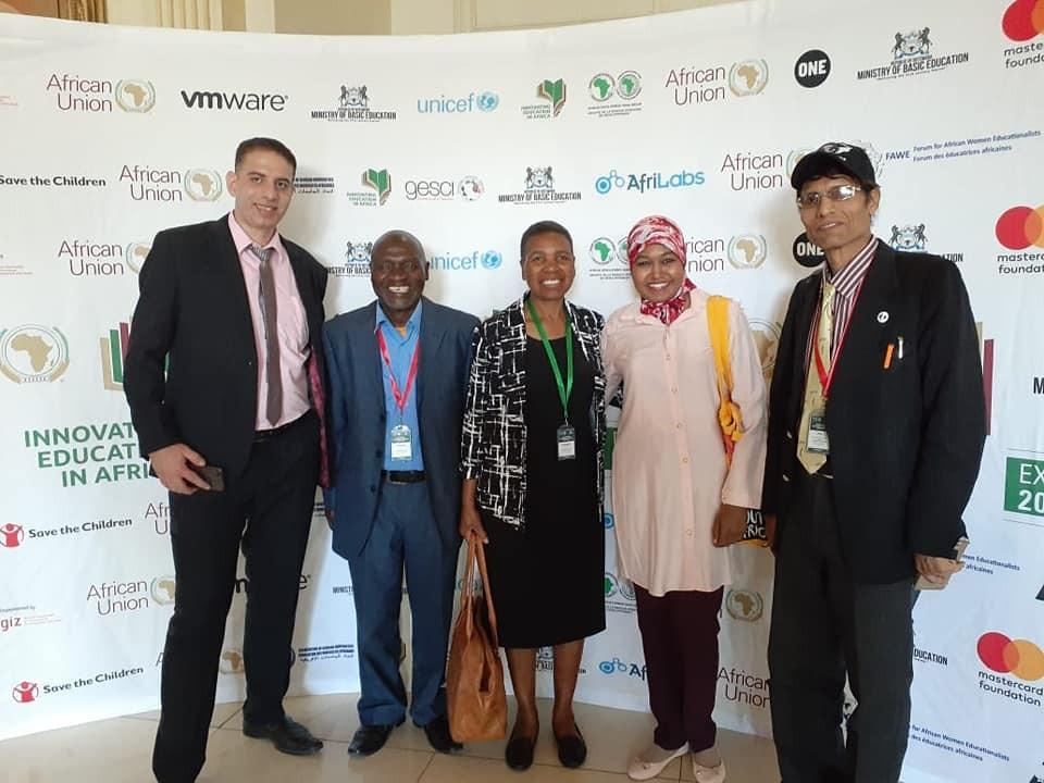 اختيار منصة ڤلابي للمشاركة في مؤتمر ابتكار التعليم في افريقيا