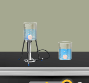 The Effect of Temperature on The Speed of The Chemical Reaction